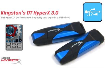 Kipróbáltuk: Kingston DataTraveler HyperX 3.0 – rakéta a zsebben
