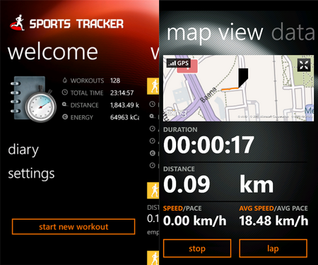 Megjelent a Sport Tracker WP7-re