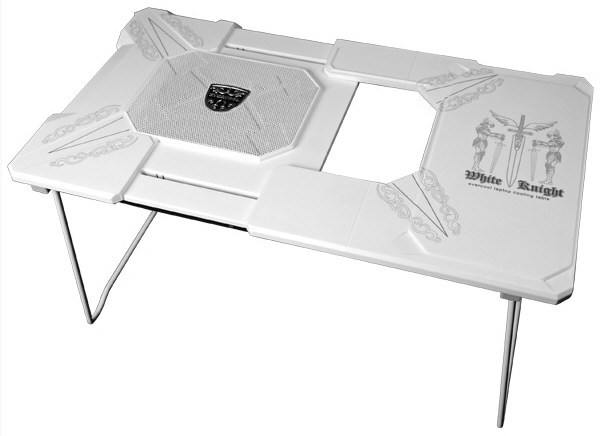 Az Evercool beveti a lovasságot: érkezik a White Knight notebook hűtőpad