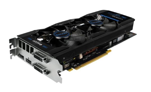 Megemelt órajelekkel jön a Galaxy GeForce GTX 760-as kártyája