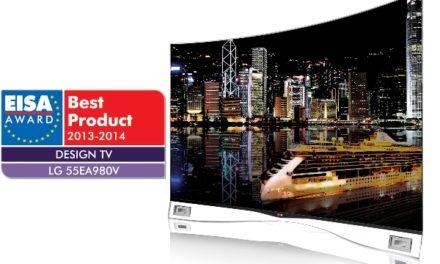 EISA-díjas az LG hajlított OLED TV-je