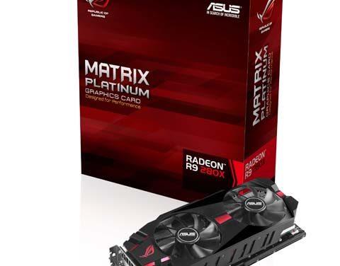 Az ASUS Republic of Gamers bejelentette a Matrix R9 280X grafikus kártyákat