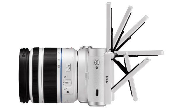 Frissült a Samsung NX300 fényképezőgép