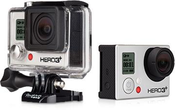 Még kisebb, még tovább bírja a GoPro HERO3+