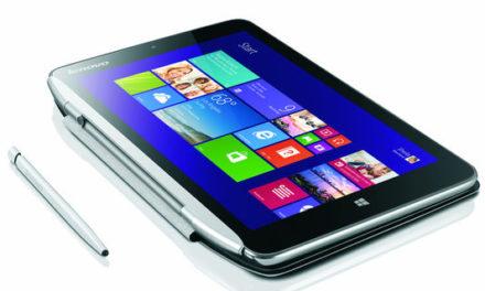 A Lenovo bemutatta új, kisebb Windows 8.1-es tablet gépét a Miix2-őt