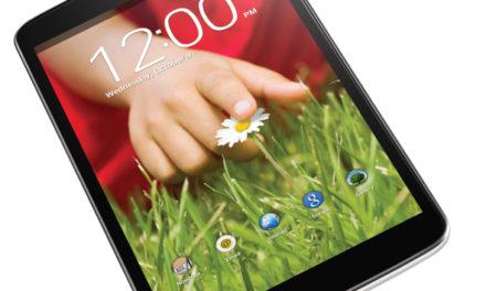 LG G Pad 8.3 – elérhető áron, akárcsak a többi G szériás okostelefon