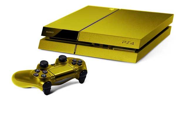 Aranyból készül a PlayStation 4….