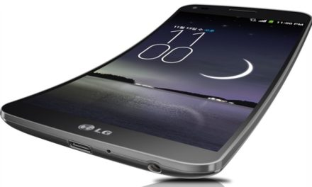 LG bent smartphone came to our country