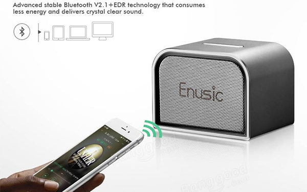 Enusic 001 Mini Bluetooth Speaker, ha kevés a hangerő