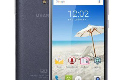 UHANS A101 4G – belépőszintű 4 magos telefon 20 ezer forint alatt