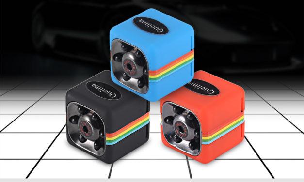 Quelima SQ11 – a nagyon mini menetrögzítő kamera FHD felbontással