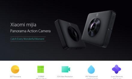 Megérkezett a Xiaomi 360 fokos kamerája!