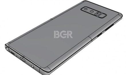 Kiszivárgott a Samsung Galaxy Note 8 dizájnja