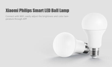 Xiaomi Philips okos LED-lámpa 3000 forint alatt!
