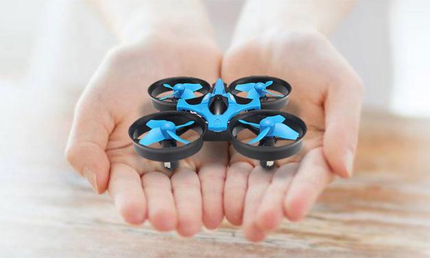 JJRC H36 – Mini drón féláron