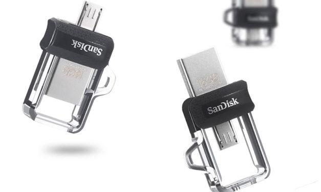 SANDISK ULTRA DUAL DRIVE M3.0 – mutatós és praktikus a Sandisk USB háttértára