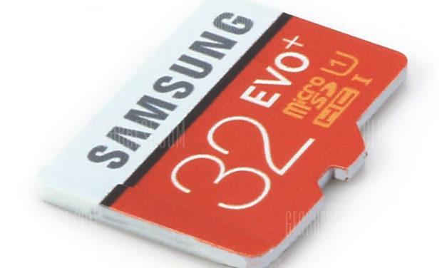 Samsung UHS-1 32GB MicroSDXC – nyolcszoros olvasási sebesség, változatlan ár