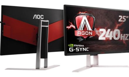 Az AOC bemutatja a szupergyors 240 Hz-es AGON G-SYNC monitort