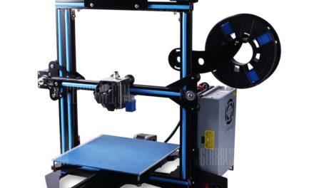 Zonestar Z5F 3D nyomtató bevezető akció 45 dollár kedvezménnyel