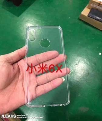 Xiaomi Mi 6X átlátszó hátlappal?