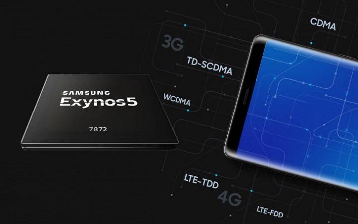 Piacon a Samsung Exynos 7872 SoC