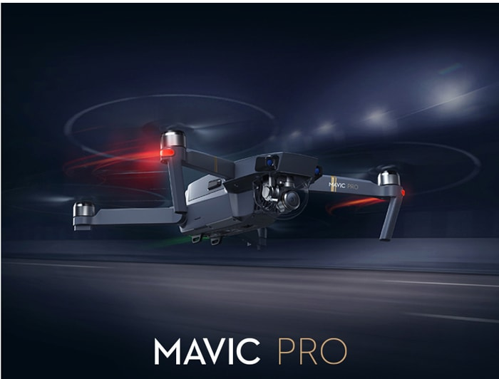 [Kupon] DJI Mavic Pro európai raktárból 25 ezer forint kedvezménnyel!