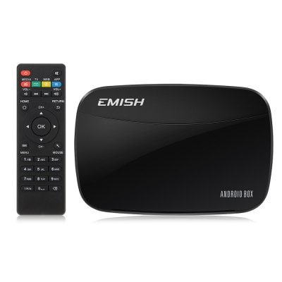 [쿠폰] EMISH X700 멕시코 메뉴 가격의 스마트 TV 박스