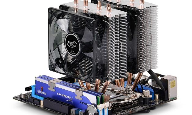 Bemutatta a Frostwin LED hűtőt a DeepCool