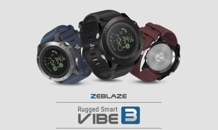 Zeblaze Vibe 3 – minőség elérhető áron!