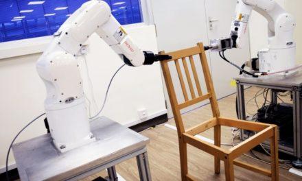 Még a robotok is küzdenek az ikeás bútorokkal!