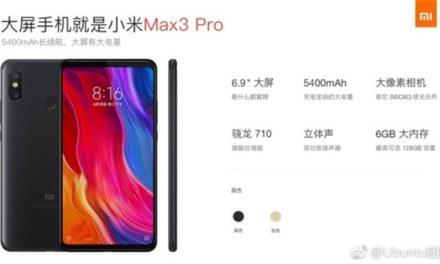 Július 3-án érkezik a Xiaomi új óriás telefonja, az Mi MAX 3