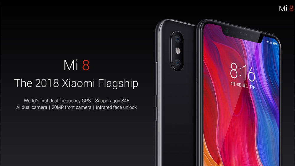 Megérkezett a Xiaomi Mi 8 európai verziója és ajándék Mi Band 3 okoskarkötőt kapunk hozzá