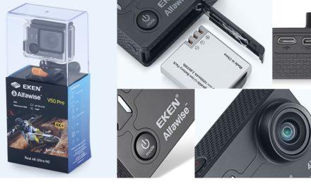 EKEN Alfawise V50 Pro – valódi 4K kamera a GoPro árának töredékéért