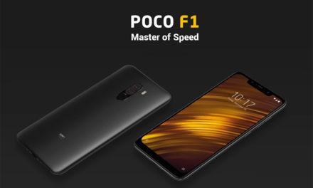Xiaomi Pocophone F1 – 128 GB-os telefon a 64 GB áráért