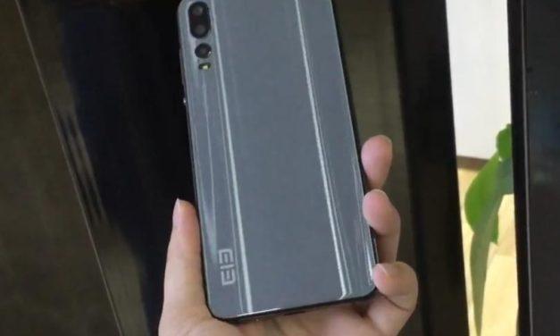 Három hátlapi kamerával dolgozó mobilt villantott az Elephone