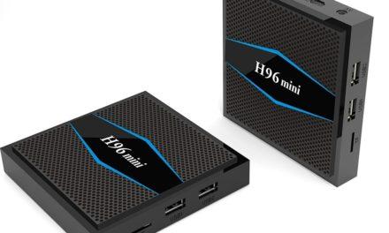 Tesztpadon a H96 Mini TV Box
