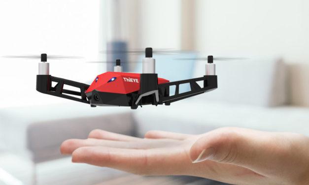 A ThiEYE a piacvezetőket támadja új drónjával