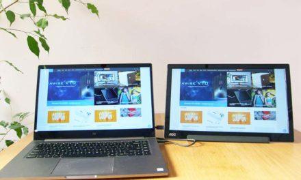 AOC i1601FWUX – elegáns és praktikus hordozható monitor