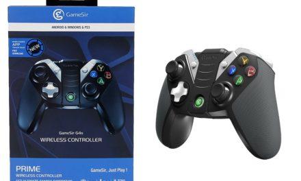 Tesztpadon a GameSir G4s játékvezérlő