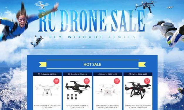 Drónok és robotok – itt az első augusztusi leárazás (kuponok)
