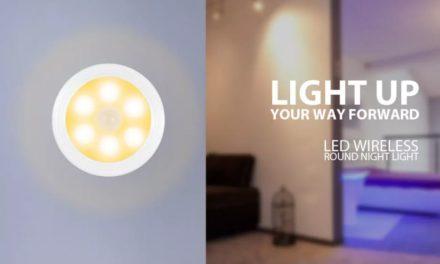 Akciós az Utorch mozgásfigyelő LED-es lámpája!