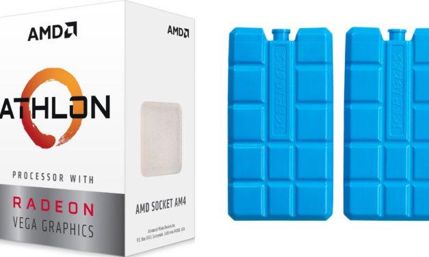 Esti agymenés: AMD Athlon 200GE jégakkuval!