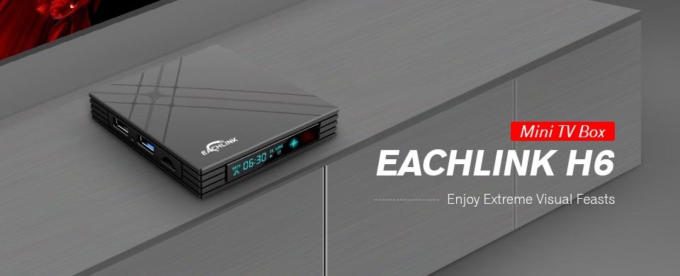 Akciós az EACHLINK H6 Mini TV Box!