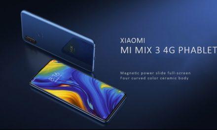 Xiaomi Mi MIX 3 global verzió kuponos akcióban