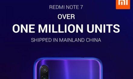 Xiaomi Redmi 7 – több mint egymilliós értékesítés csak Kínában