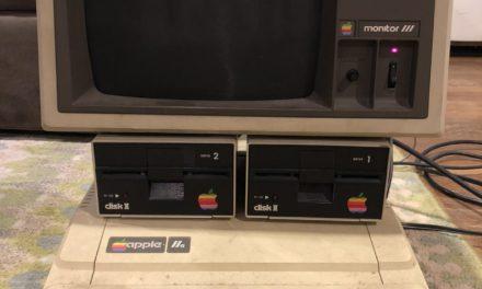 30 év után is működőképes egy Apple IIe
