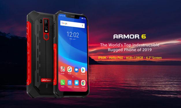 Egy törhetetlen telefon, ami megvéd a leégéstől – Ulefone Armor 6E teszt