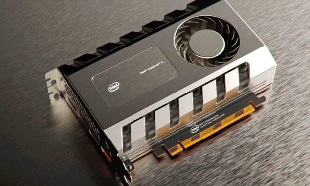 Így néz ki az Intel vadonatúj videokártyája?!