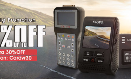 Akciókamerák, menetrögzítő kamerák és autódiagnosztikai termékek 30 százalék kedvezménnyel!