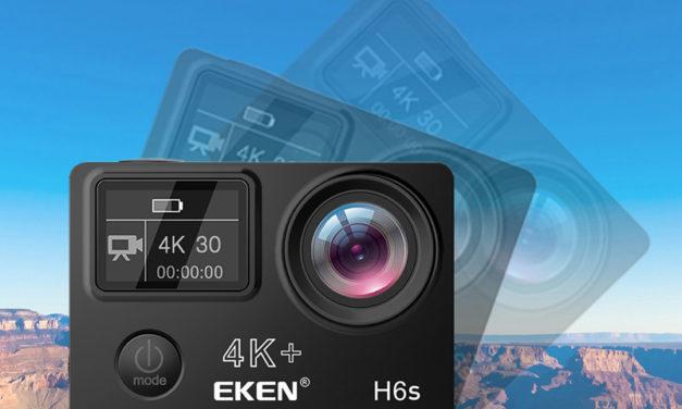 EKEN V50 Pro és EKEN H6s – Sportkamerák olcsón 4K felbontással